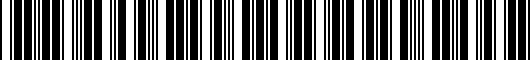 Barcode for PT9084219502